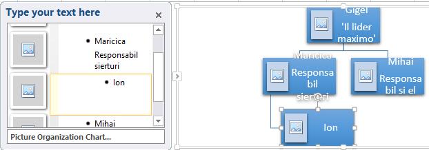 Organigrama in Excel 4