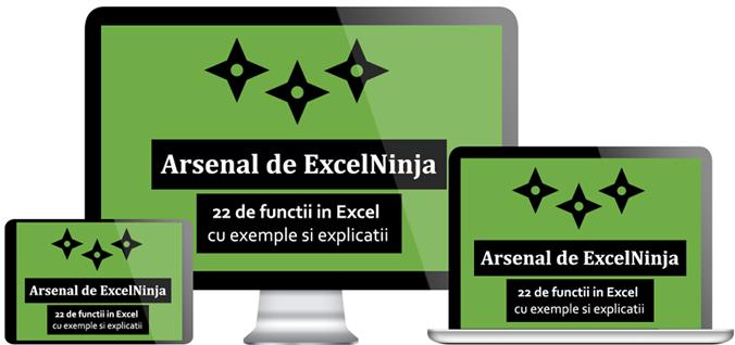 eBook - Arsenal pentru ExcelNinja v2