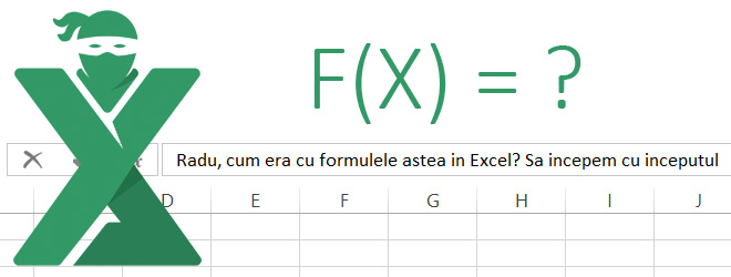 Formule in Excel: Introducere