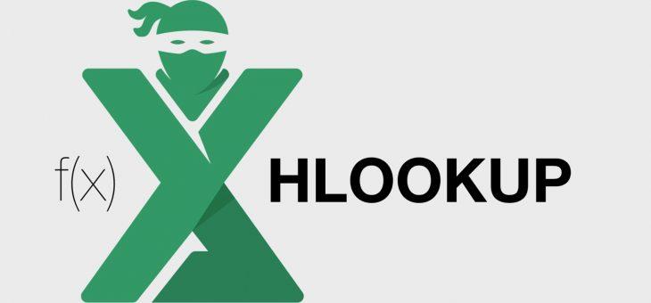Functia HLOOKUP in Excel