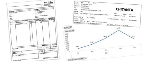 Factura in Excel