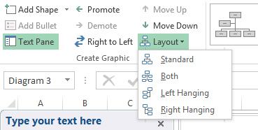 Organigrama in Excel 6