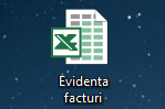 Evidenta facturi in Excel