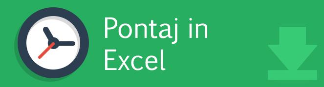 Pontaj in Excel 0