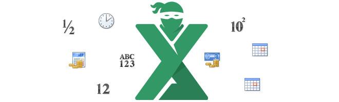 Tipuri de formatare a celulelor in Excel