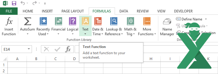 Functii care gestioneaza textul in Excel