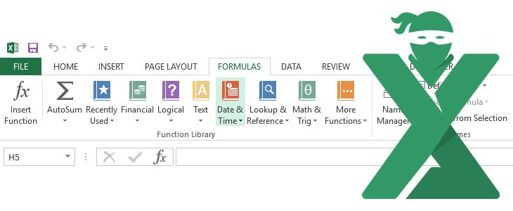 Functii care lucreaza cu date in Excel