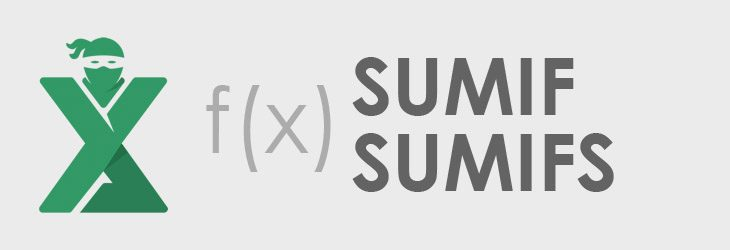 Functia SUMIF / SUMIFS in Excel