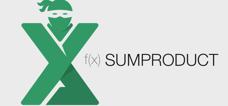 Functia SUMPRODUCT in Excel