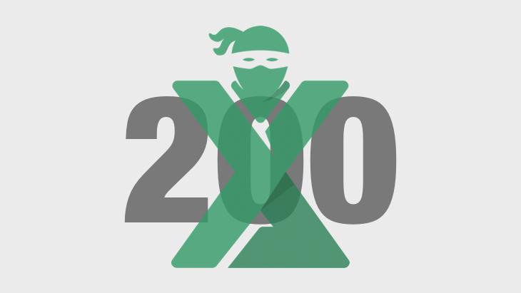 200 articole despre Excel