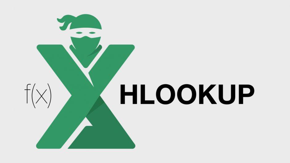 Functia HLOOKUP Excel