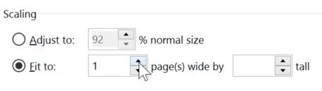 Imprimare in Excel 2