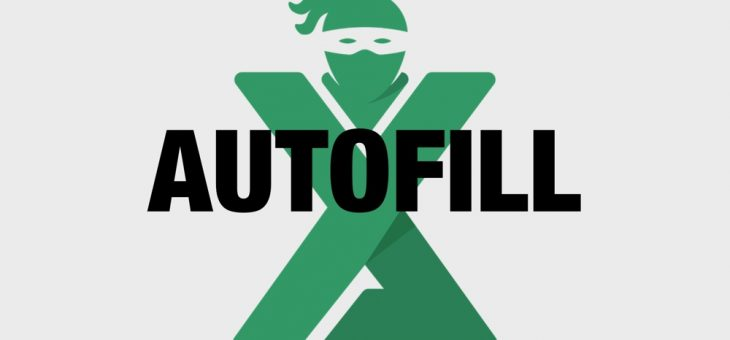 Autofill in Excel: tot ce trebuie sa stii
