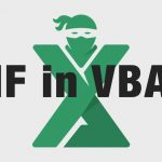 Functia IF VBA