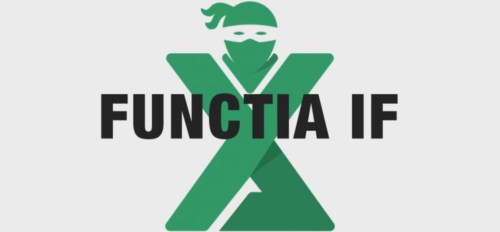 Functia IF in Excel – tot ce trebuie sa stii